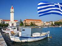 Stad van Zakynthos Ionian Island