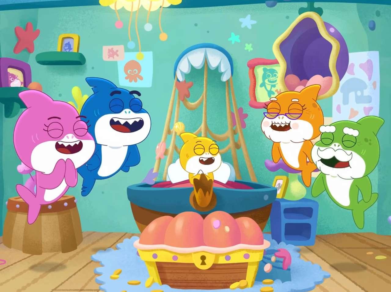 Happy Family Sharks