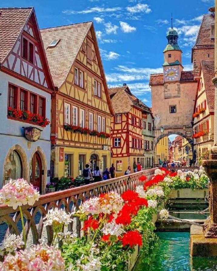 Rothenburg. kirakós játék