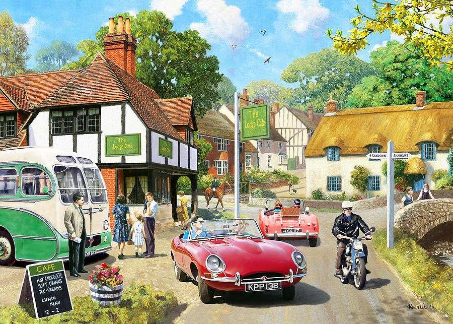 Fahrzeuge in der ehemaligen Angli Puzzle