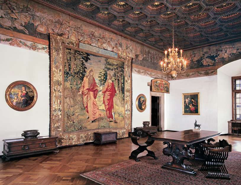 Zygmunt's chamber on Wawel