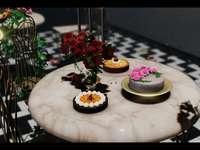 Όμορφο ρομαντικό τραπέζι
