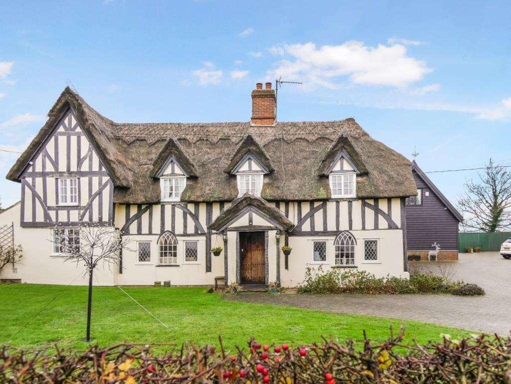 Casa característica na Inglaterra
