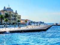 Spetses grekiska ön