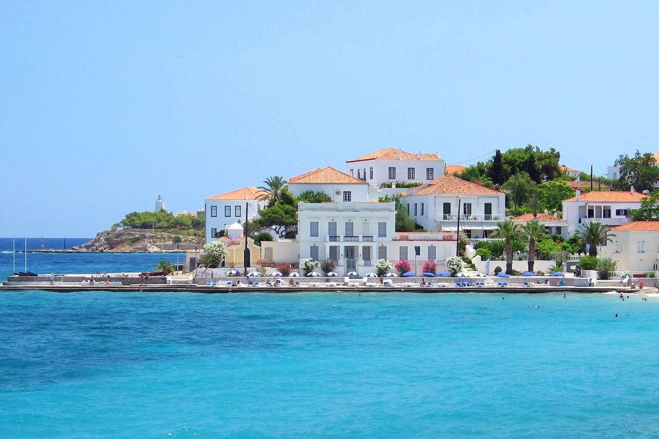 Spetses řecký ostrov
