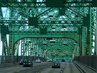 Champlain Bridge, Brossard, Канада