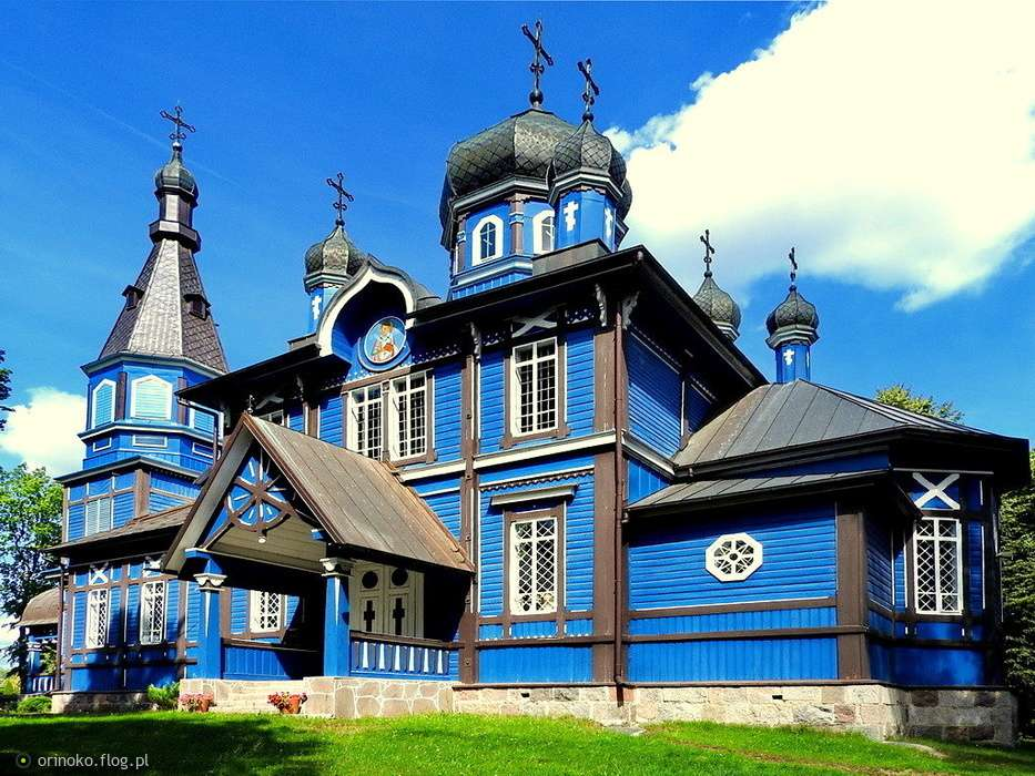 Orthodox church of Our Lady in Swells