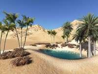 Пустинен оазис