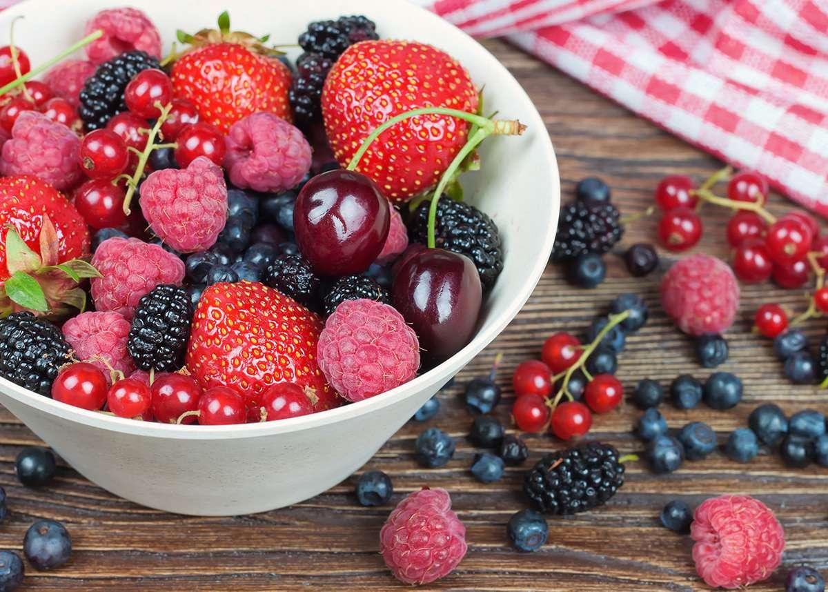 Fruit voor goed zicht