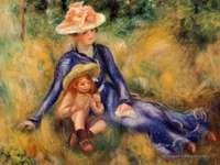 """Yvonne-and-Jean-Pierre"" Auguste Renoir"