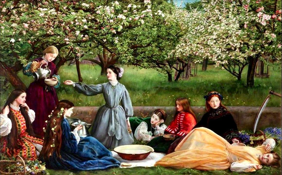 Blossoms Apple.