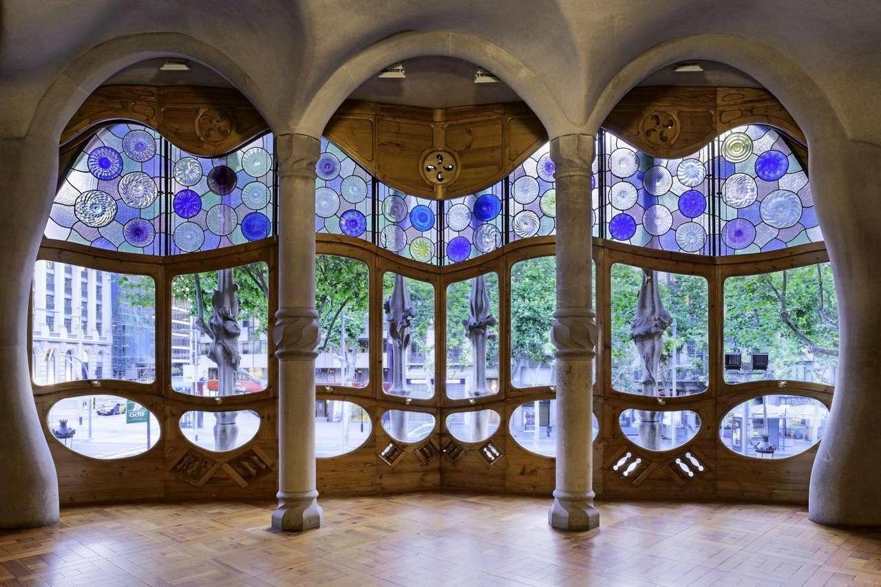 Casas de Gaudí rompecabezas