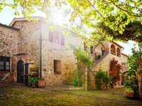 Traditional Italian villa