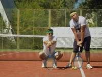 Jogadores de tênis