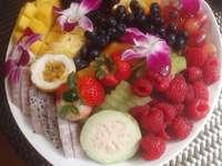Früchte auf einem Teller