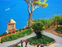 Ravello Garden Villa Rufolo Salerno Italy