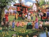 Szczęśliwa Kermesse we wsi