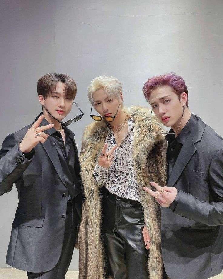 Stray Kids Changbin, I.N și Bang Chan