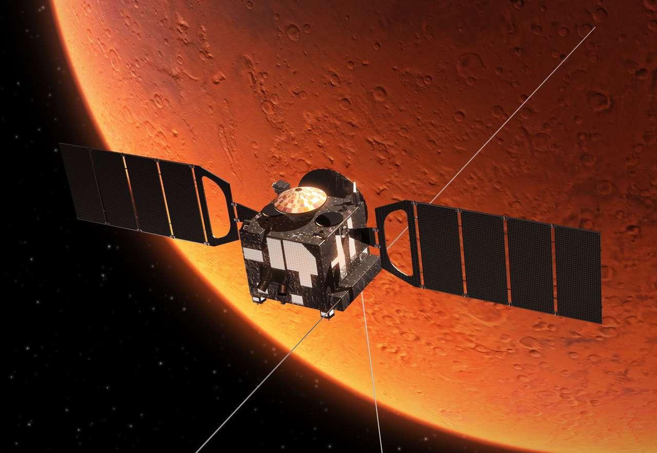 Station spatiale Orbiting Planet Mars