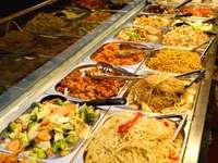 Various Thai dishes