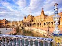 Porcelán híd Sevillában