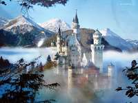 Germany- Castle in the mountains