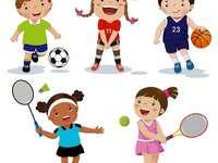 Dzieci do uprawiania sportów