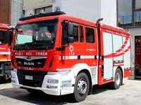 Italský hasičský vůz