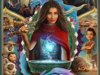 Raya and the last Dragon Film poster