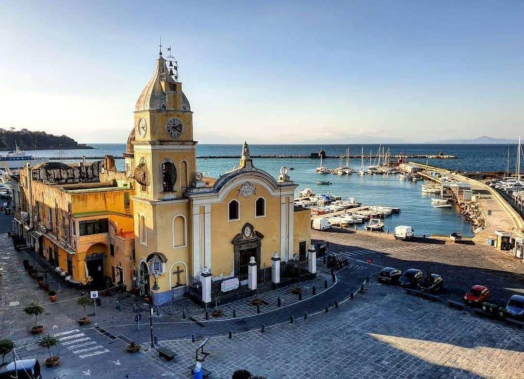 Marina Grande Procida Nápoly