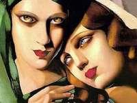 """""""The Green Turban"""" z Tamara de Lempicka"""