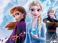 Elsa zamrożona.