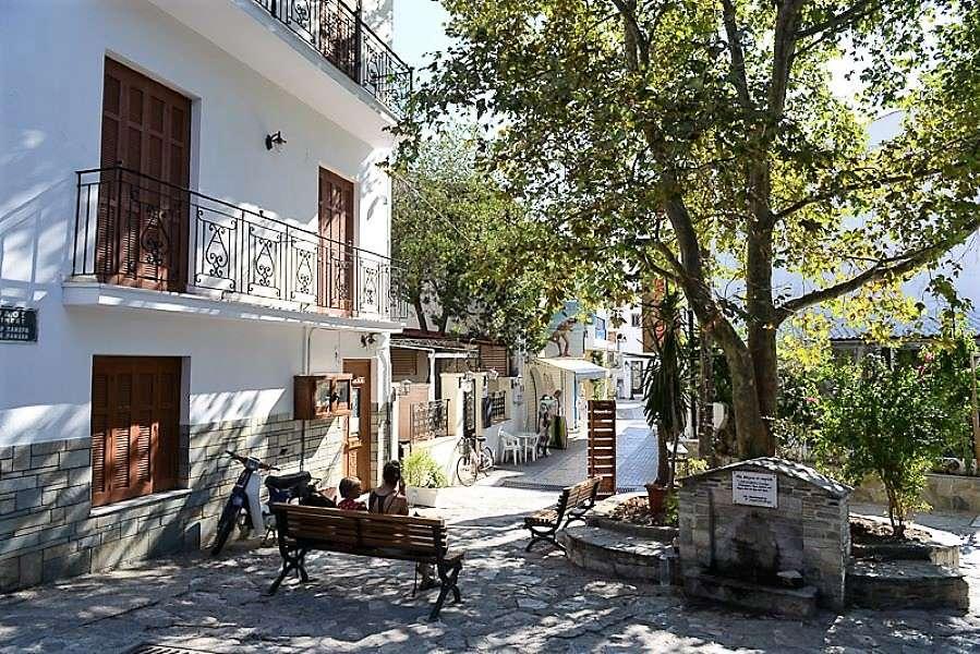 Skiathos řecký ostrov online puzzle
