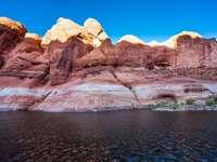 O rio Colorado e Antelope Canyon