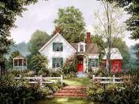 Καλοκαιρινό εξοχικό σπίτι
