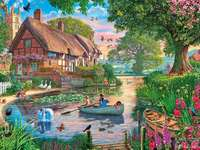 << Na rybníku >>