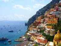 Amalfikusten, Italien