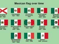 A mexikói zászló fejlődése ☆