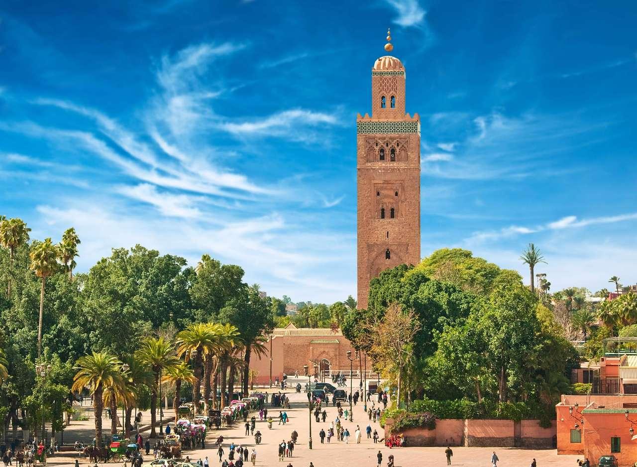 Marrakesh. puzzle