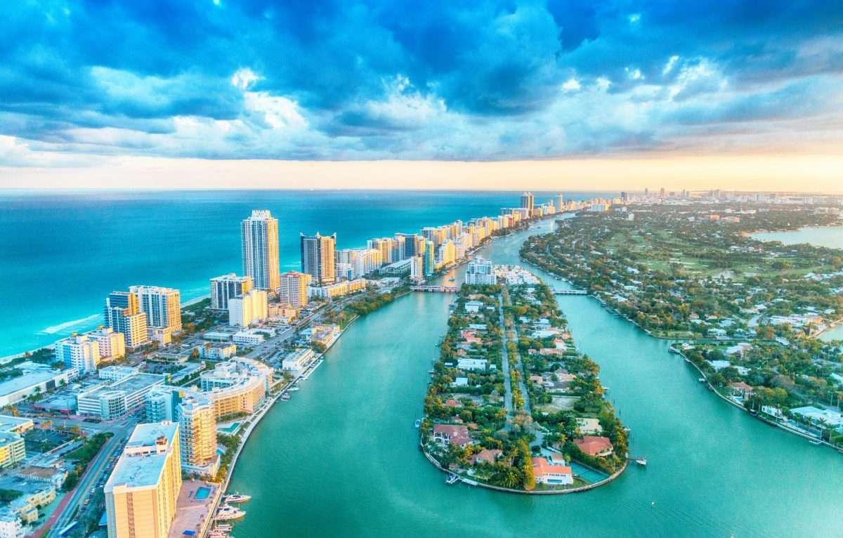 Florida in de Atlantische Oceaan online puzzel