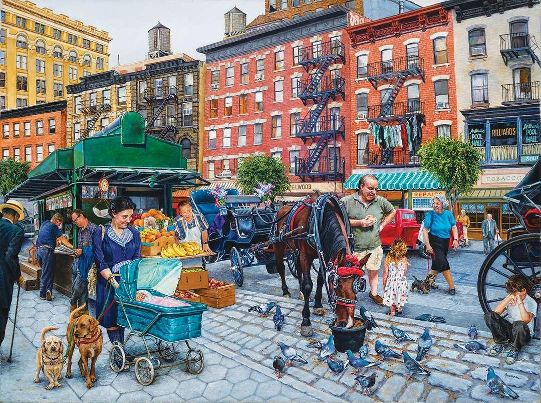 Animated Street of New York (Suzan Brabeau)