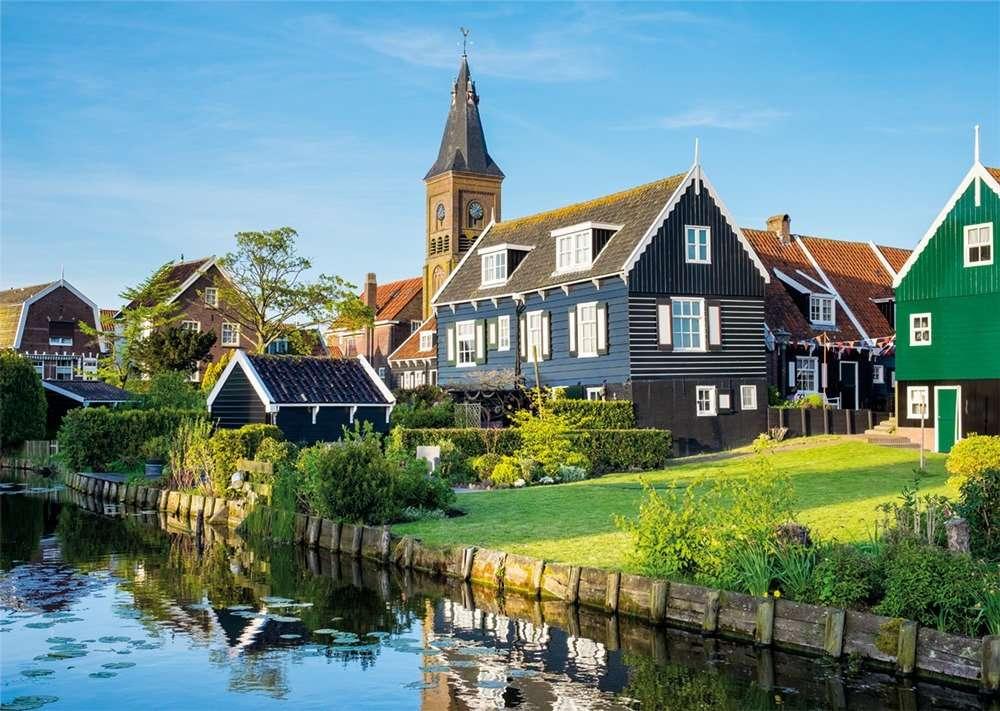 Marken - En liten fiskeby i Nederländerna