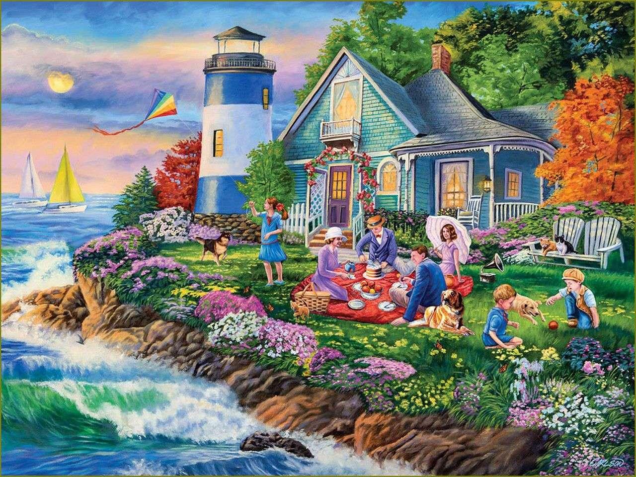 Piknik latarni morskiej