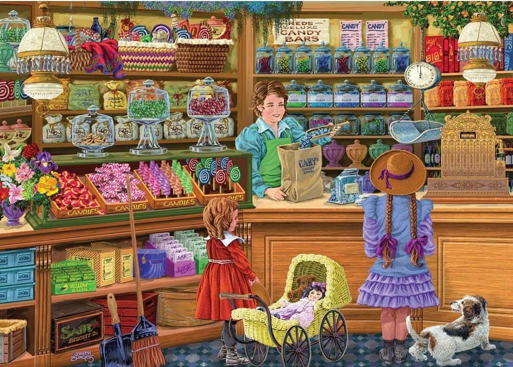 Cukierki Cary puzzle online