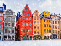 Weihnachten in Stockholm.