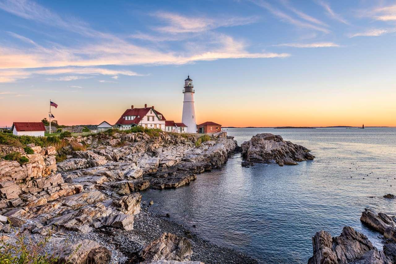 Portland, Maine, USA en Portland Head Light