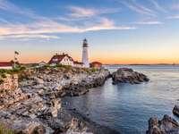 Portland, Maine, USA at Portland Head Light