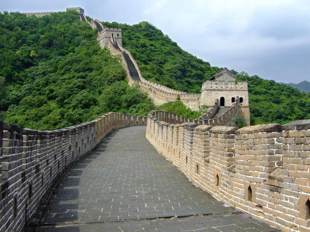 La gran muralla de mutianyu rompecabezas
