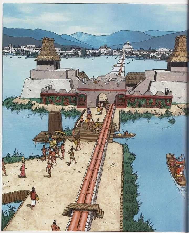 Aztec Aqueduct. puzzle