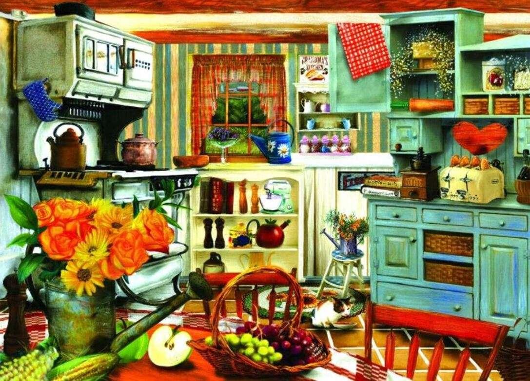 Cocina de la abuela